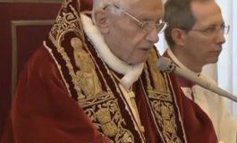 BENEDETTO XVI SI È DIMESSO PER INDAGINI INTERNE AL VATICANO