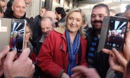 MARINE LE PEN ALLEATA DEI PARTIGIANI FRANCESI: VINCEREMO