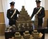 Sequestrata a tre marocchini una montagna di droga per un valore di 1,5 milioni di euro