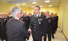 Il comandante interregionale dei carabinieri in visita al comando provinciale di Alessandria