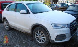 Grazie al Gps è stata ritrovata un'Audi rubata a marzo e i responsabili del furto