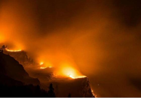 Incendi in Piemonte, aumenta il livello di inquinamento