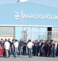 Sciopero di otto ore alla Marcegaglia per i due infortuni sul lavoro