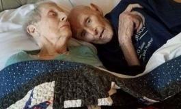 Sposati da 71 anni, si sono sempre voluti bene e sono morti a tempo, mano nella mano