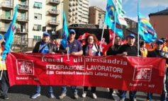 Continua la protesta dei lavoratori del Gruppo Gavio contro la nuova legge sugli appalti