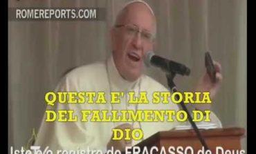 Mentre in Vaticano cantano inni a Lucifero, il Papa sdogana l'eutanasia