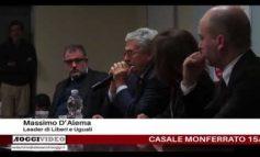 D'Alema a Casale ha parlato anche di amianto