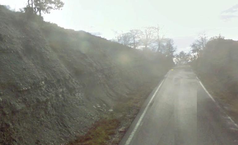 Crolla la strada, Pareto raggiungibile dal Sassello o passando da Malvicino
