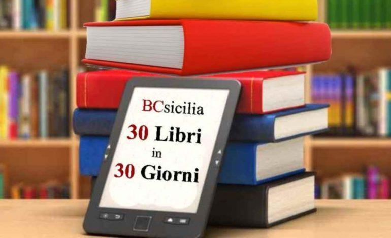 """Si conclude con la Festa del libro la rassegna di BCsicilia """"30 Libri In 30 Giorni"""""""