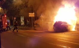 Raid incendiario notturno nel centro di Casale