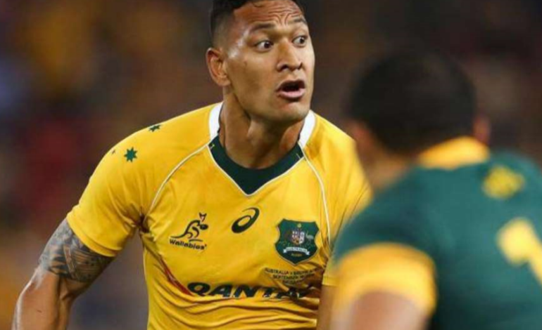"Folau insiste: ""Unioni gay? Perversioni indescrivibili"""