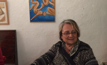 Espone a Bosco Marengo Alessandra Guenna, la pittrice che non ha paura della forma