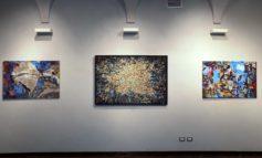 Le mostre che si sono svolte a Palazzo Cuttica e nelle Sale d'Arte di Alessandria hanno ospitato opere di Aqua Aura e Manuela Toselli