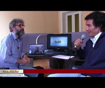 Massimo Marchese e la nuova sala di registrazione nel Castello di Morsasco