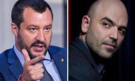 Salvini querela Saviano per un post su Facebook