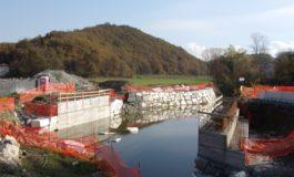 Sp161 della Crenna: dal 9 luglio percorribile il nuovo ponte sul Neirone