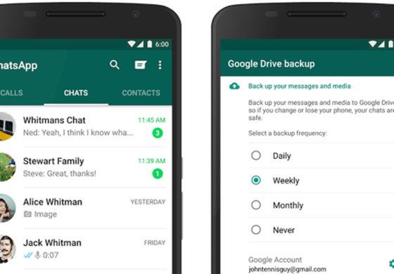 Accordo tra Google e WhatsApp per il backup di foto e messaggi senza occupare spazio su Drive