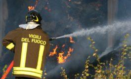 I pompieri di nuovo a Castelceriolo per un residuo di incendio alla discarica Aral