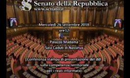 La diretta streaming  del canale satellitare del Senato della Repubblica