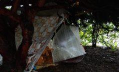 Sgomberato campo rom abusivo in Viale Massobrio