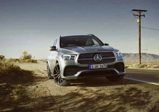 Ecco il nuovissimo Suv Mercedes GLE