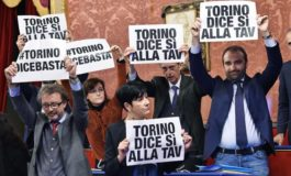 Torino dice di no alla Tav: sindacati e Forza Italia alleati per il sì