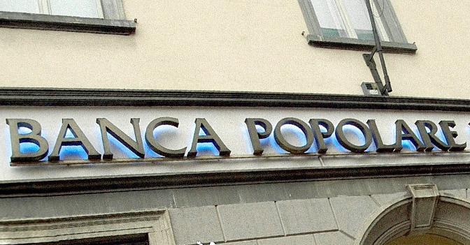 Banche: conversione delle Popolari in Spa rinviata a fine 2019