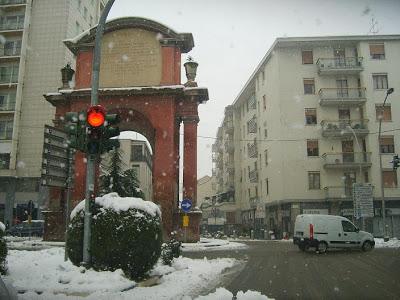 Neve: l'alessandrino è la zona più colpita del Piemonte