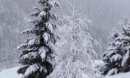 Per le forti nevicate borghi senza luce nell'Alessandrino