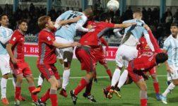 L'Alessandria sfiora la vittoria ma la capolista Entella la costringe al pari