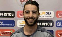 Grigi, due mesi di stop per il centrocampista Chiarello che chiude anzitempo la stagione