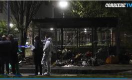Giallo alla periferia di Milano: corpo mutilato trovato tra le fiamme