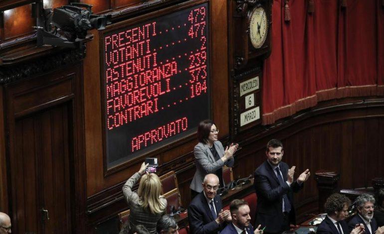 Legittima difesa: ok dalla Camera, ora passa al Senato