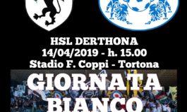 """L'Hsl Derthona chiama a raccolta i tifosi: il 14 aprile allo stadio """"Coppi"""" sarà """"Giornata Bianconera"""""""