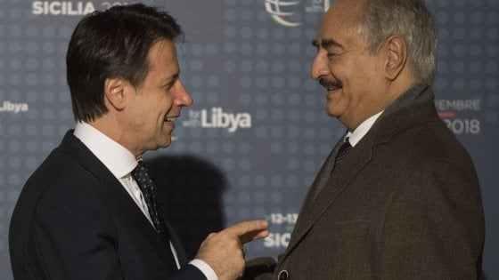 Libia, Conte conferma: ho incontrato l'emissario di Haftar