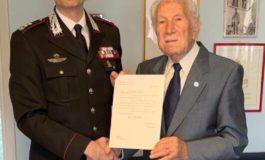 Uomo della Benemerita ha compiuto 101 anni