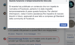 La censura di Facebook