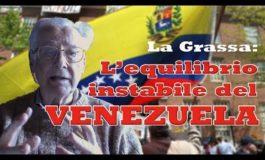 La Grassa: troppe interferenze straniere nella crisi del Venezuela