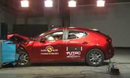 Crash test Euro NCAP: Mazda 3 al top dopo l'ultima sessione di test