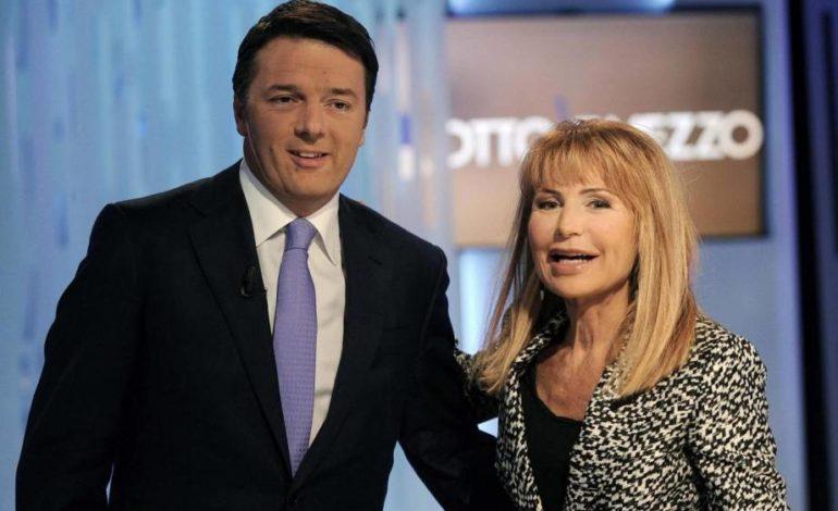 Renzi tra i supermassoni del Bilderberg con Lilli Gruber