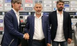 """Presentato ufficialmente il nuovo allenatore dell'Alessandria Cristiano Scazzola: """"Con Artico lavoreremo per allestire una squadra di combattenti"""""""