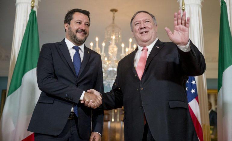 Salvini a Washington: l'Italia non è la Grecia, la flat tax va bene e allontanare la Russia è un errore