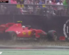GP Germania F1 2019, Hockenheim: l'incidente di Leclerc con la Ferrari mentre era (quasi) primo