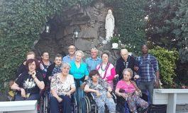 Gita sulle colline del Monferrato con visita alla Grotta della Madonna di Lourdes:  una bella giornata di svago ed amicizia per un gruppo di ospiti del Soggiorno Airone