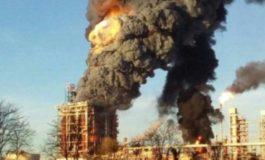 Esplosione alla raffineria Eni di Sannazzaro de Burgondi: il boato avvertito anche in provincia di Alessandria