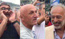 Lerner contestato a Pontida, Salvini: passa la vita ad insultarmi, chi la fa l'aspetti
