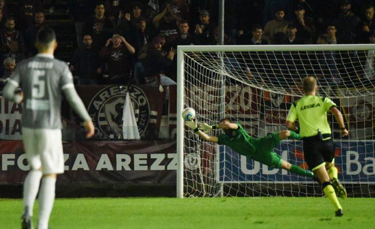 L'Alessandria non sfonda in Toscana: ad Arezzo è solo 1-1