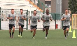 Grigi, ricominciati gli allenamenti in vista del match con la Carrarese del 12 gennaio