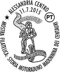 ANNULLO FILATELICO PER IL 70° MOTORADUNO DEI CENTAURI