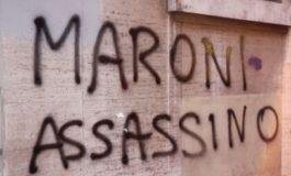 """LEGA: """"LE SCRITTE SUI MURI CONTRO DI NOI SONO IL RISULTATO DELLA POLITICA INCAPACE DEL PD"""""""
